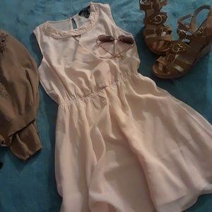 Light pink cute dress